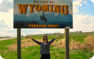 We made it to Wyoming!
