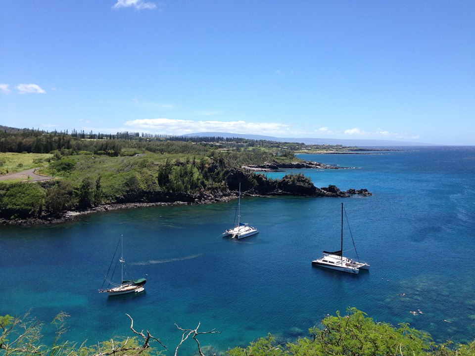 A view from Maui.