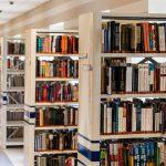 Wordless Wednesday: Wrestler in Library