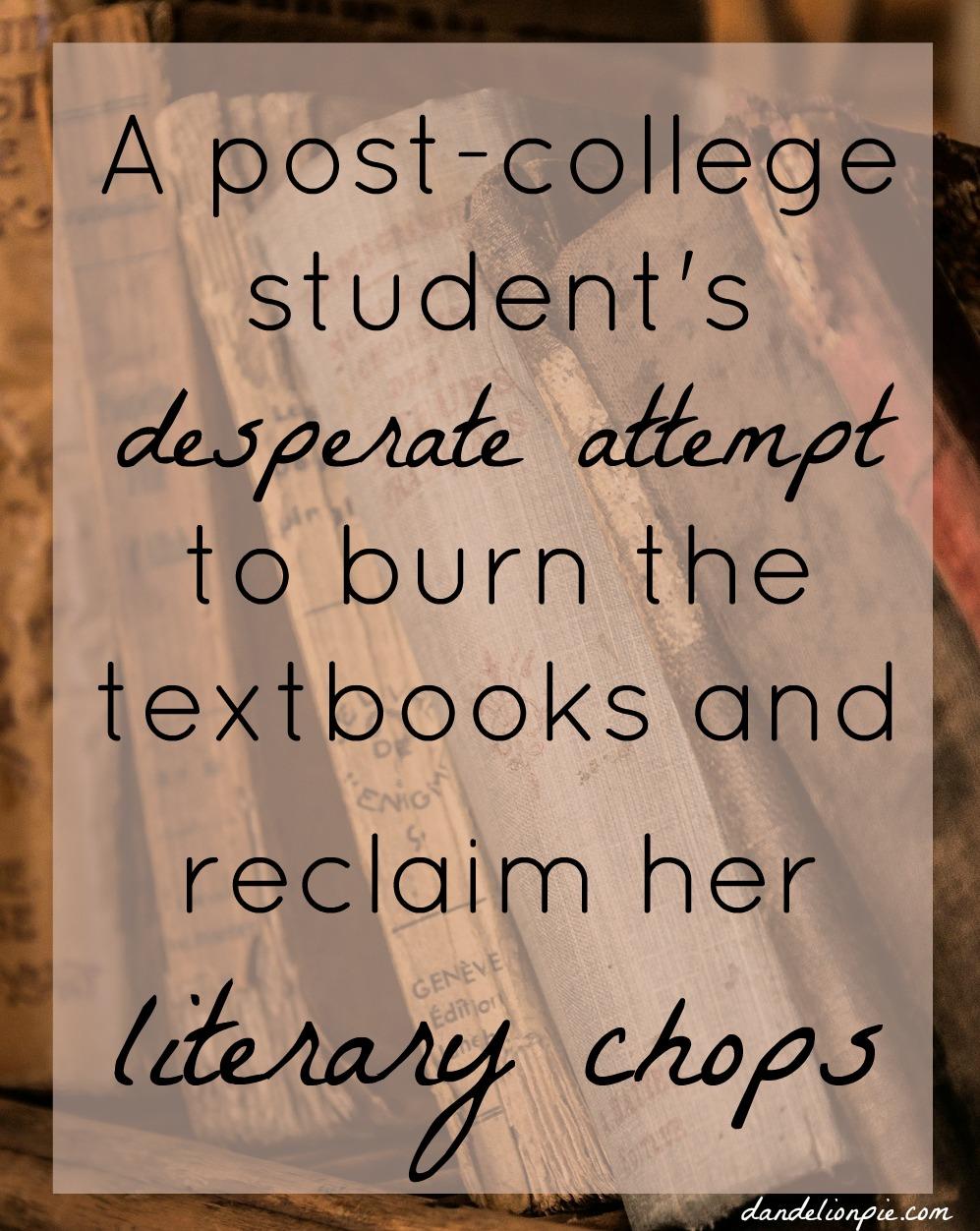 Read More Books: Reclaiming my Literary Chutzpah