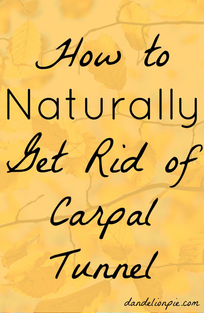 I tried for years to ease my pain, and I finally figured out how to get rid of this terribly frustrating overuse injury. How to Naturally Get Rid of Carpal Tunnel. #blogger #natural #carpaltunnel #carpaltunnelcure #naturalcure #chiropractic #biofreeze #health