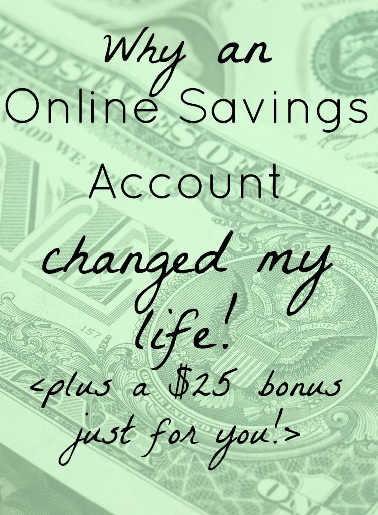 Love this so much! Why an Online Savings Account Is a Game Changer (plus a $25 bonus for my readers!) #frugal #frugalliving #savingsaccount #capitolone #capitolone360 #bonusforsavings #moneytip #moneyhack