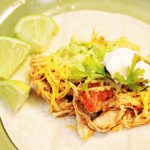 4-Ingredient Slow Cooker Chicken Tacos