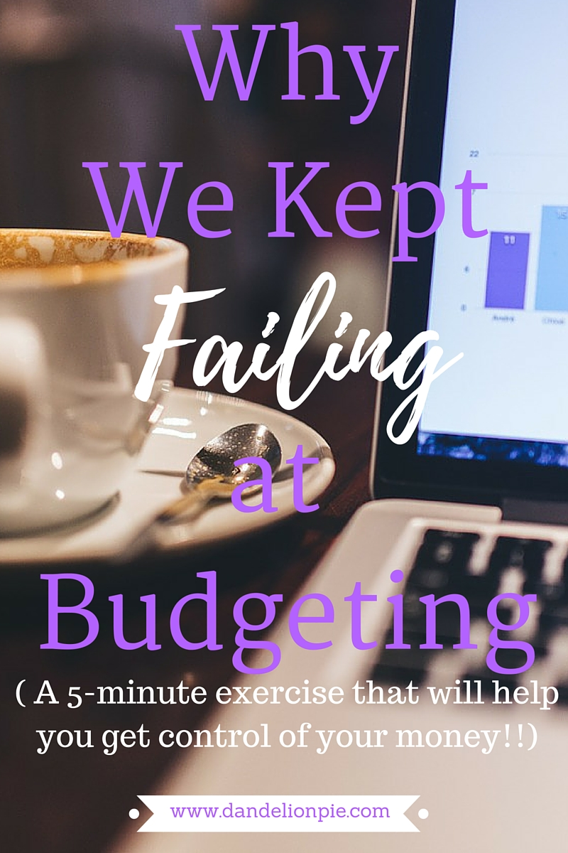 Why We Keep Failing at Budgeting (and what I'm doing differently this month)