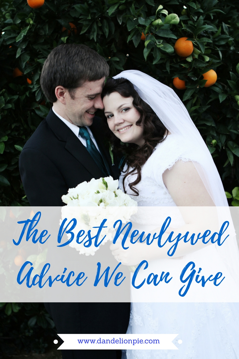 The Best Newlywed Advice We Can Give #newlywed