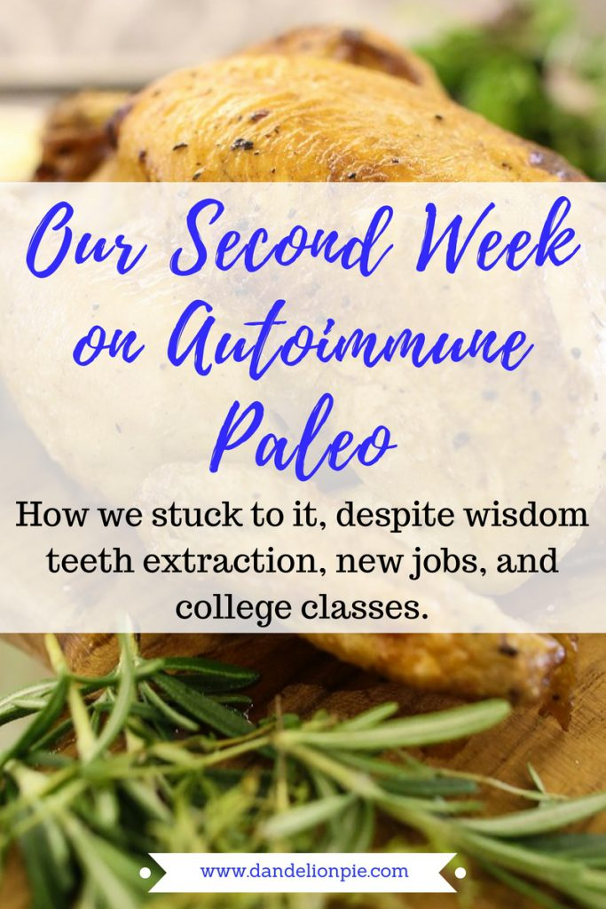 We almost gave up! Here's how we stuck to this strict diet this week (without going crazy!!) Autoimmune Paleo: Week 2 #aiprecipe #aip #autoimmune #paleo #autoimmuneprotocol