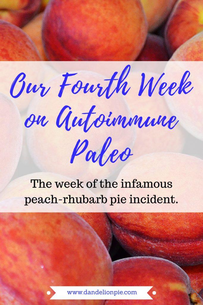 Autoimmune Paleo: Week Four #aip #autoimmune #paleo