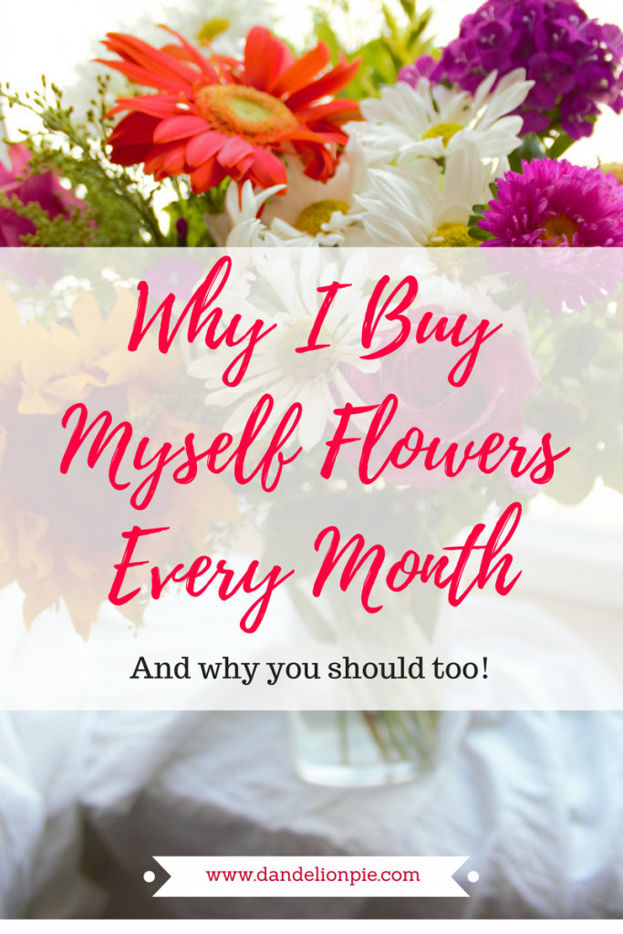 Now I want to go buy some flowers!! Why I Buy Myself Flowers Every Month #blogger #selfcare #joy #blog #flowers