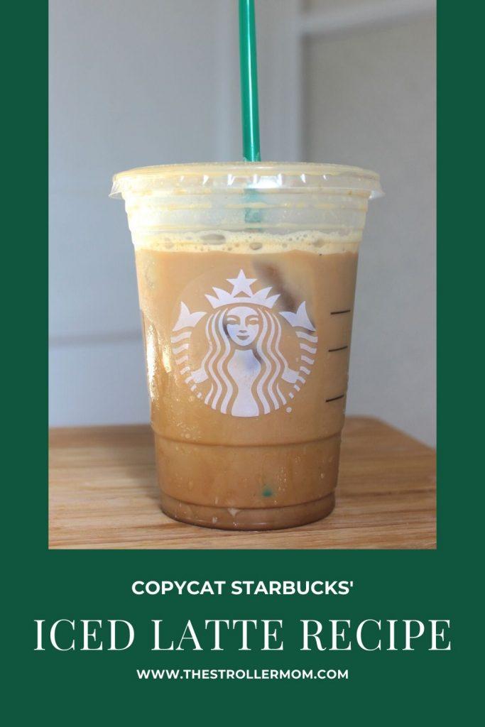 Copycat Starbucks Iced Latte Recipe