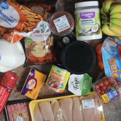 $75 Meal Plan for a Family of Four