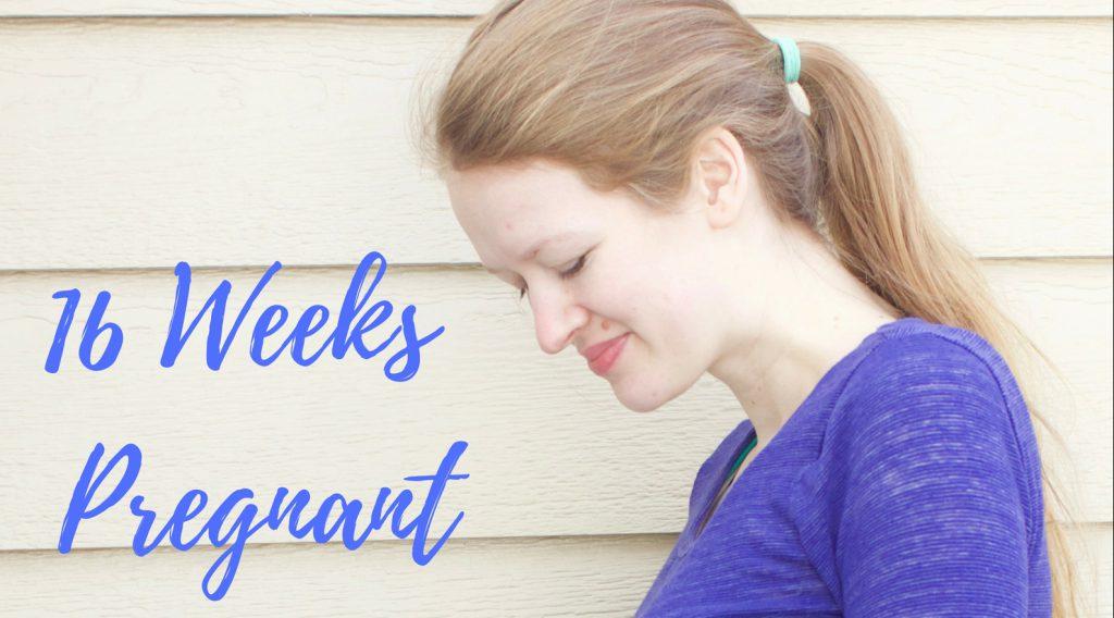 16 Weeks Pregnant #pregnant #sixteenweekspregnant #bumpdate